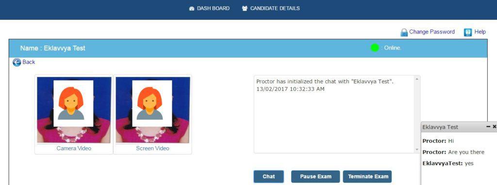 Online Exam Proctoring