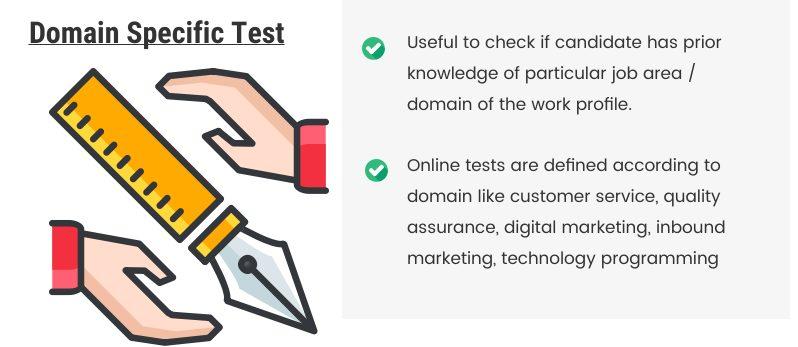 Domain Specific Online Assessment