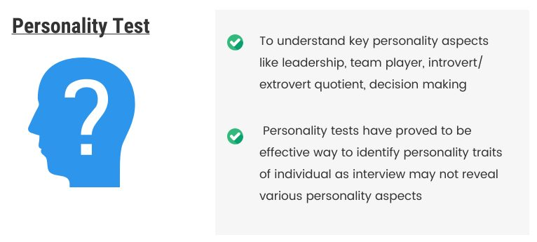 Personality Test Assessment