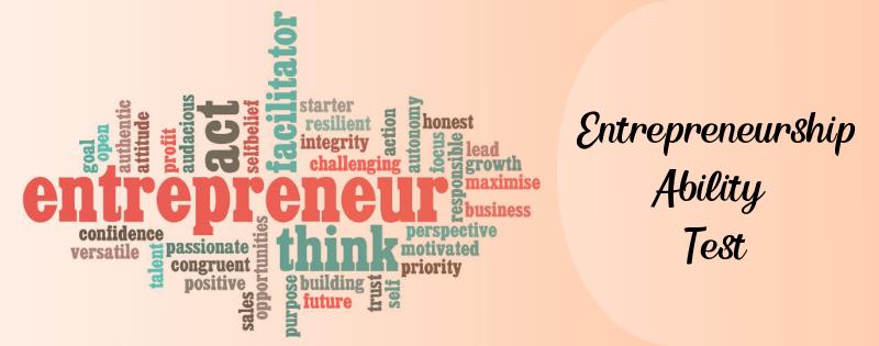 Entrepreneurship Ability Test