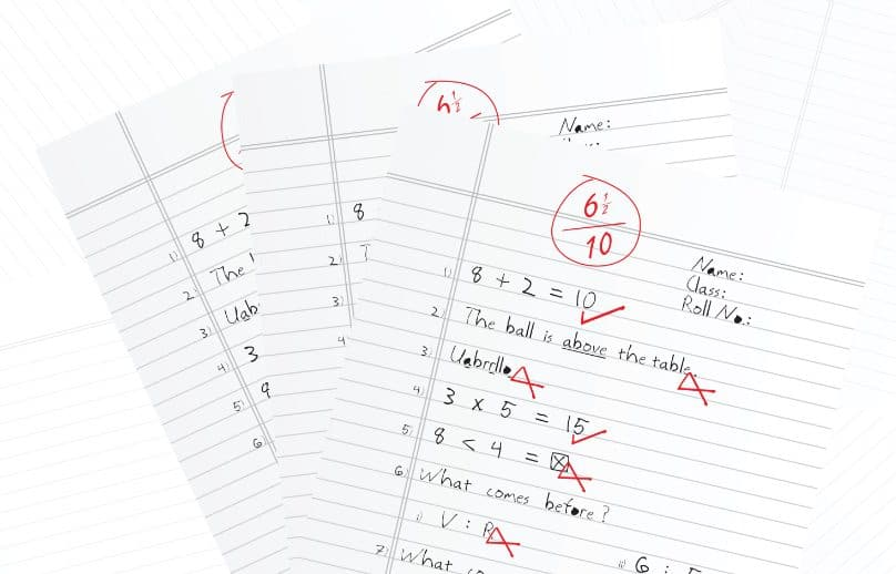 Answer Sheet Checking Process