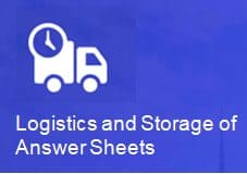 Logistics and storage of answer sheets