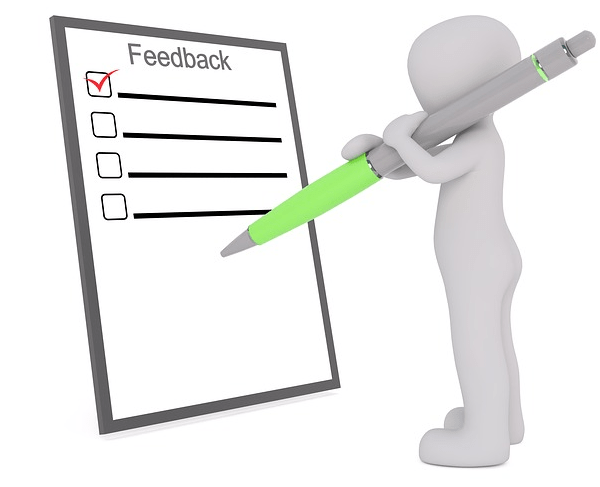 feedback of examiner during onscreen marking phase